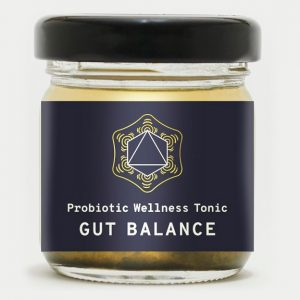Sooth Gut Balance Tonic probiotic drink.